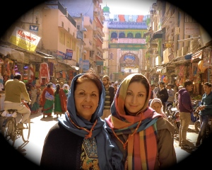 Mom & I in Ajmer