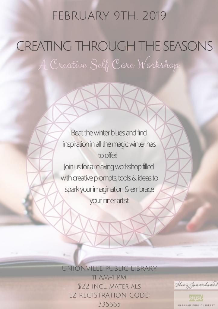 Creating through the seasons (2)