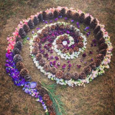 Spiral Mandala, Indian Summer Festival