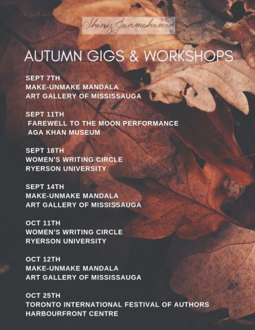 Autumn gigs #1